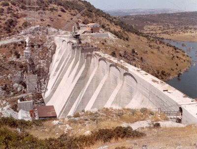 Dam Engineering - ALTO TEMO - BUTTRESS