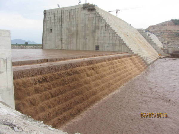 Grand Eth Renaiss Project of a dam Ethiopia