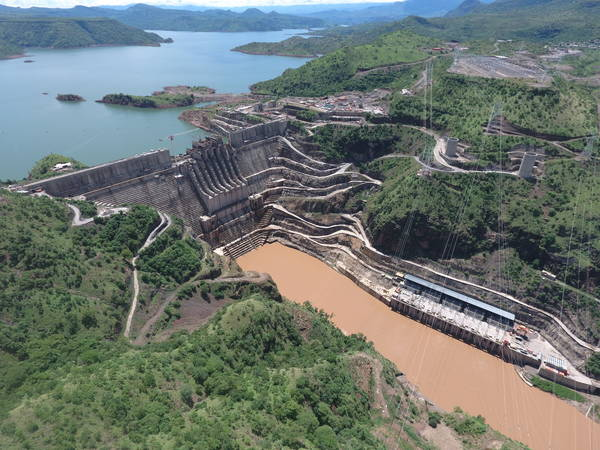 World's highest RCC dam - RCC gravity dam - hydroelectric cascade - Oromia region, Ethiopia, Africa - Studio Pietrangeli hydroelectric engineers - hydro consultancy firm - hydropower ethiopia